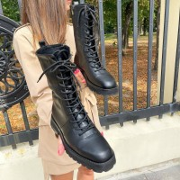 Женские ботинки кожаные 0507 (образец)