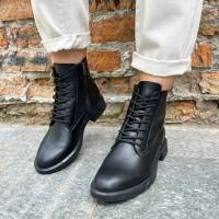 Женские ботинки кожаные 0523
