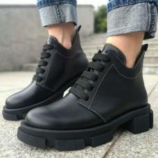 Женские ботинки кожаные 0253