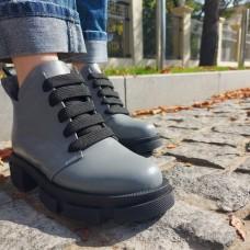 Женские ботинки кожаные 0254