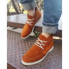 Женские ботинки замшевые 0263
