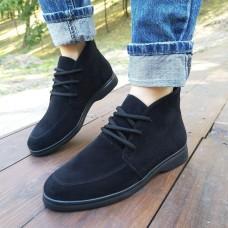 Женские ботинки замшевые 0264