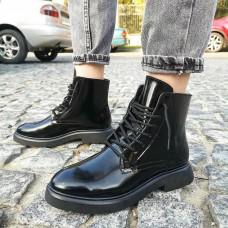 Женские ботинки кожаные 0268