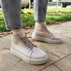 Женские ботинки кожаные 0273