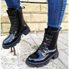 Женские ботинки кожаные 0274