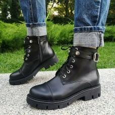 Женские ботинки кожаные 0275